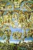 Poster Michelangelo Das Jüngste Gericht Fresko Sixtinische