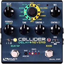 Source Audio Collider Stereo Delay+Reverb Pedal