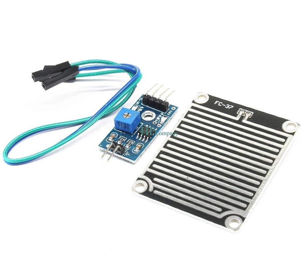 ジョージスティーブンソン文明化徒歩でWillBest 1PCS Raindrop module/sensor weather module Large area raindrop module