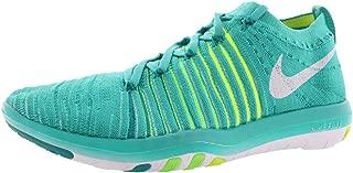 Nike Women's WMNS Free Transform Flyknit, Blue Glow/White-DEEP Royal Blue-Racer Blue