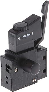 SALAKA 1PC Negro Premium Quality 10A Lock on Power Tool