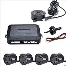 $29 » GUANGGUANG Heartwarming Shop 12V Car Parking Sensor Kit Reverse Backup Radar Sound Alert Indicator Probe System 4 Probe Be...
