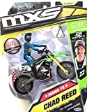 MXS Motocross Sound FX Bike & Rider Series 7 - #22 Chad Reed by MXS Motocross