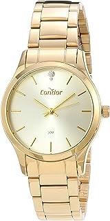 Relógio, Analógico, Condor, COPC21AEAD/K4B, feminino, Dourado