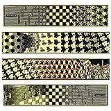 Artopweb EC40032 Escher - Metamorphosis II, 1940 (4 MDF Panels), Holz, Bunt, 100 x 1.8 x 22 cm -
