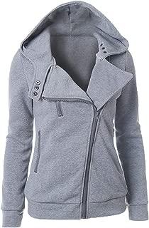 Women's Thermal Long Hoodie Zip Up Long Sleeve Jacket Hooded Warm Coat Casual Vest Fashion Elegant Winter Sweatshirts