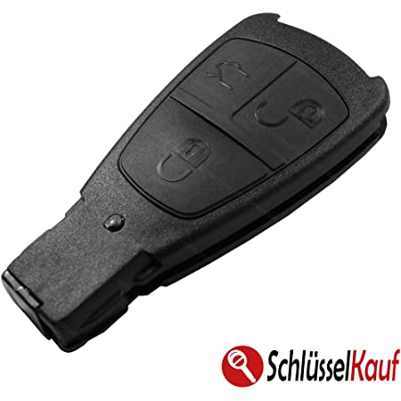 Konikon Autoschlüssel 3 Tasten Auto Schlüsselgehäuse Elektronik