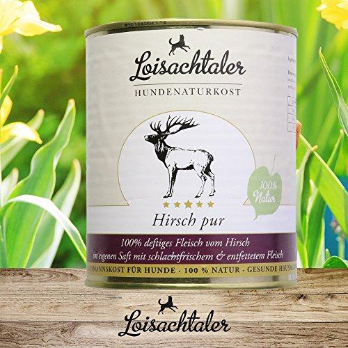 Loisachtaler Hirsch pur 800g (12 x 800g)