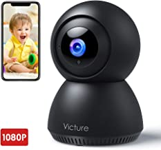 $20 » Victure 1080P FHD 2.4G WiFi Baby Monitor with Motion Tracking Sound Detection Security Indoor Camera for Baby/Pet/Elder with 2-Way Audio, Auto Night Vision