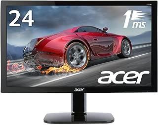 Acer ゲーミングモニター KG240bmiix 24インチ/1ms/HDMI×2/スピーカー内蔵/ブラックブースト機能