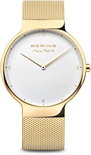 BERING Mens Analogue Quartz Watch with Stainless Steel Strap 15540-334
