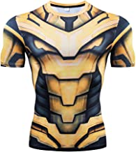 Men's Super-Hero Compression Sports Fitness Cosplay T-Shirt Quick-Drying Tops