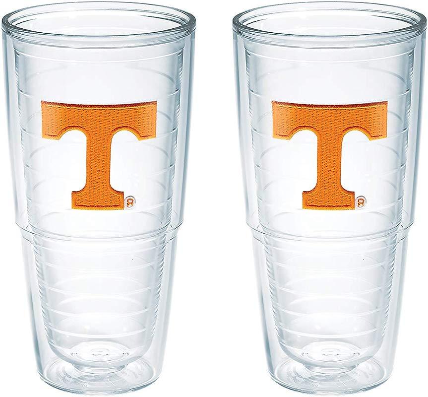 Tervis Tennessee University Emblem Tumbler Set Of 2 24 Oz Clear 1006301