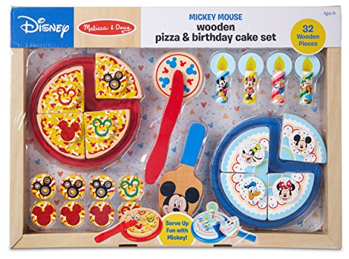 Melissa & Doug Mickey Mouse Pizza And Cake