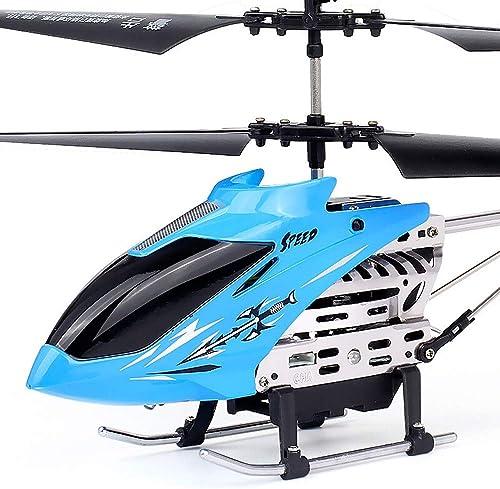 Kikioo Mini Flying RC Hubschrauber, Flugzeuge Infürot Sensing Induktion Drone Spielzeug mit bunten LED-Beleuchtung Blinken und Fernbedienung Extra Stabilit Spielzeug Spiel Spielen Kind Kind