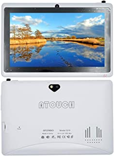 Atouch Q-19 7-inch 8GB ROM 1GB RAM 1.3GHz Dual-Core Android Wi-Fi Tablet White Color