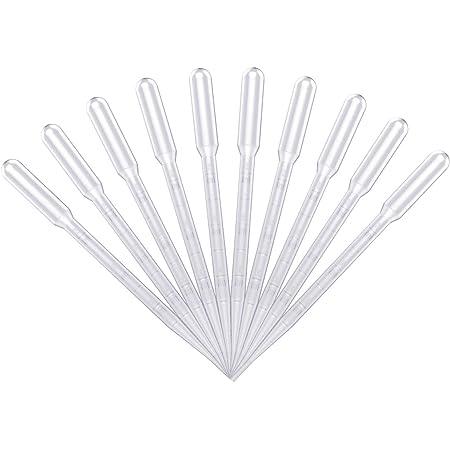 Schmuckherstellung Handwerk YeBetter 100 St/ück 4 ml Kunststoff-Pipetten zum Quetschen UV-Epoxidharz Einweg-Pipetten f/ür Silikonformen