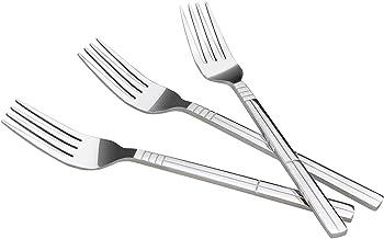 Eudokky Set De 12 Piezas Tenedor De Cena, Tenedor para Mesa Acero Inoxidable