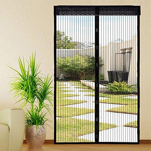 Extsud Magnetisch vliegengaas, voor deur, woonkamer, terrasdeur, kleefmontage zonder boren 120x220 cm 120 x 220 cm.
