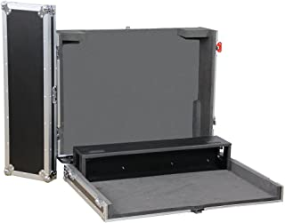 Gator Cases G-TOUR Series ATA Style Road Case - Custom Fit for Allen and Heath AH2400-16 Mixer with Dog House and Heavy Duty 4