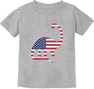 USA Dinosaur American Flag 4th of July Gift Toddler/Infant Kids T-Shirt