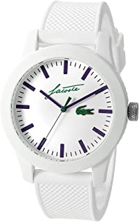 Lacoste Men's Analogue Classic Quartz Watch With Silicone Strap 2010861