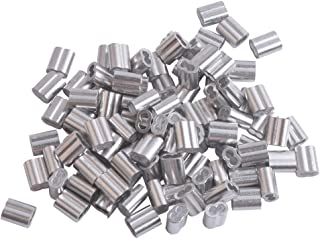 aluminium ferrule for crimping wire rope