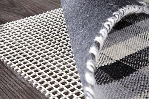 rutschhemmend zuschneidbar pflegeleicht strapazierf/ähig PVC beschichtetes Polyester SXYHKJ Teppich-Stop Antirutschmatte Teppichgleitschutz Teppichunterlage Haftgitter Rutschschutz 80 x 180cm