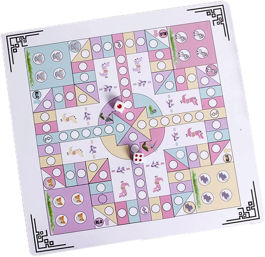 WTREA Ludo Game SALENEW very popular Set + Chess Adventure All-in-one Multifunctional Super popular specialty store
