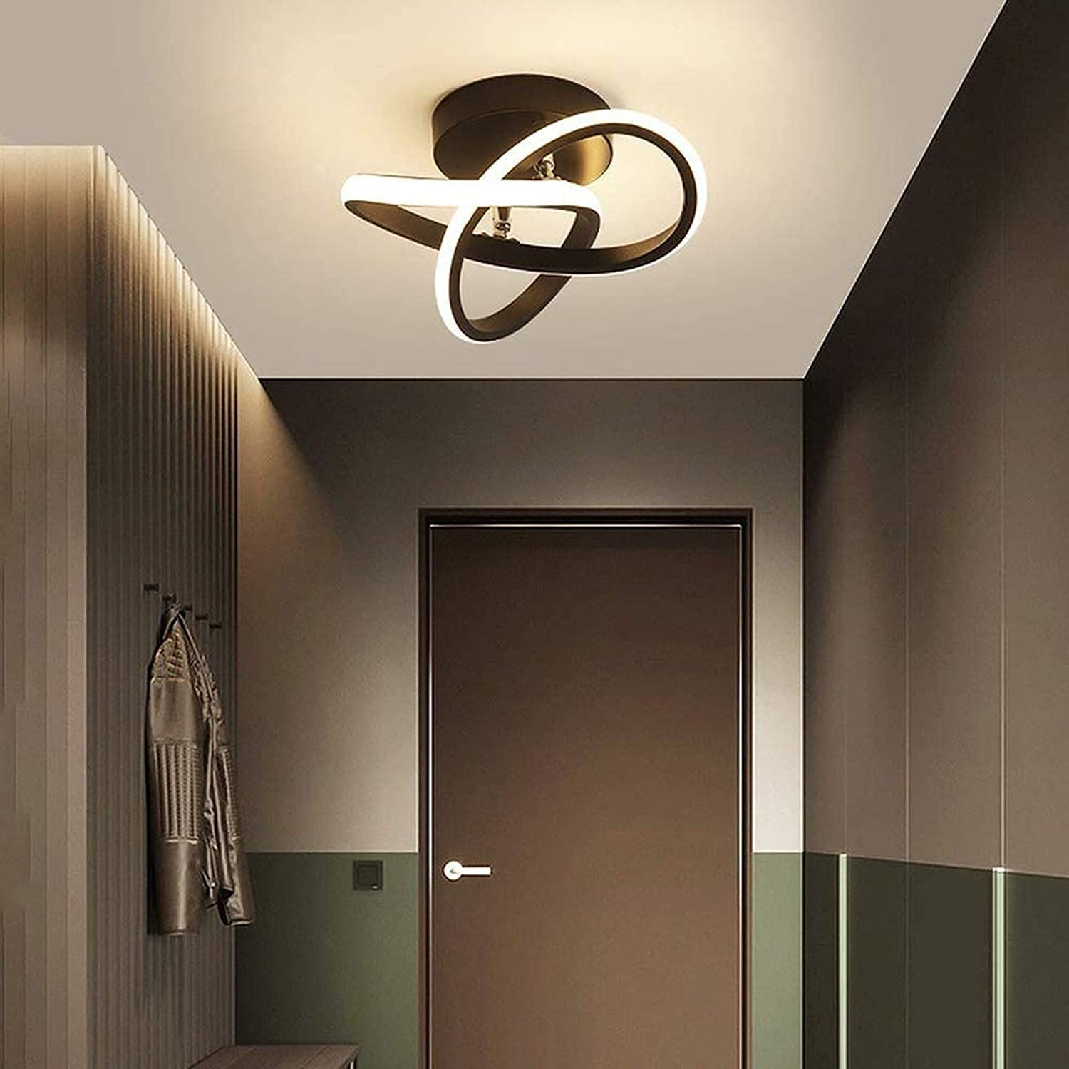 Max 55% OFF AFUMMID Max 55% OFF Modern Led Aisle Light Ceiling Ce White Lamp Metal Warm