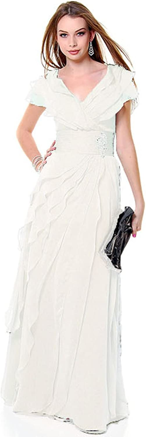 US Fairytailes Mother of The Bride Formal Evening Dress #2831
