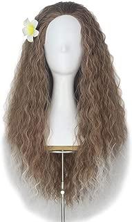 curly dark brown hair