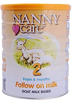 Nanny Care Goat milk Based Follow On Formula, From 6 Months, 900g Tin