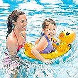 FBEST Aufblasboot/Babyboot/Babypool/Schwimmboot für Kinder in Form Eines Ente