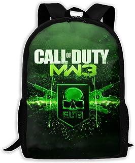 Unisex School Backpack, Unisex Kids Schoolbags Call MW Duty Backpack For School Girls Boys Daypacks Rucksack Zipper