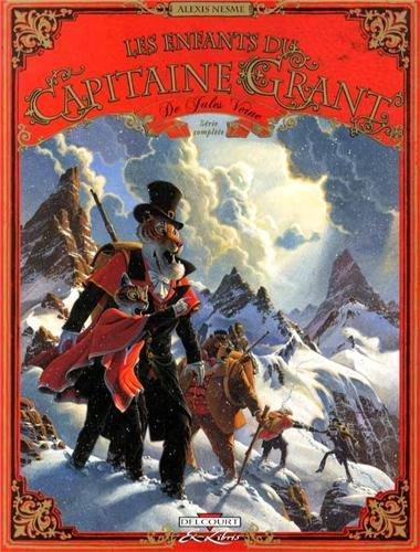 Les Enfants du capitaine Grant, de Jules Verne - Fourreau T1 à T3