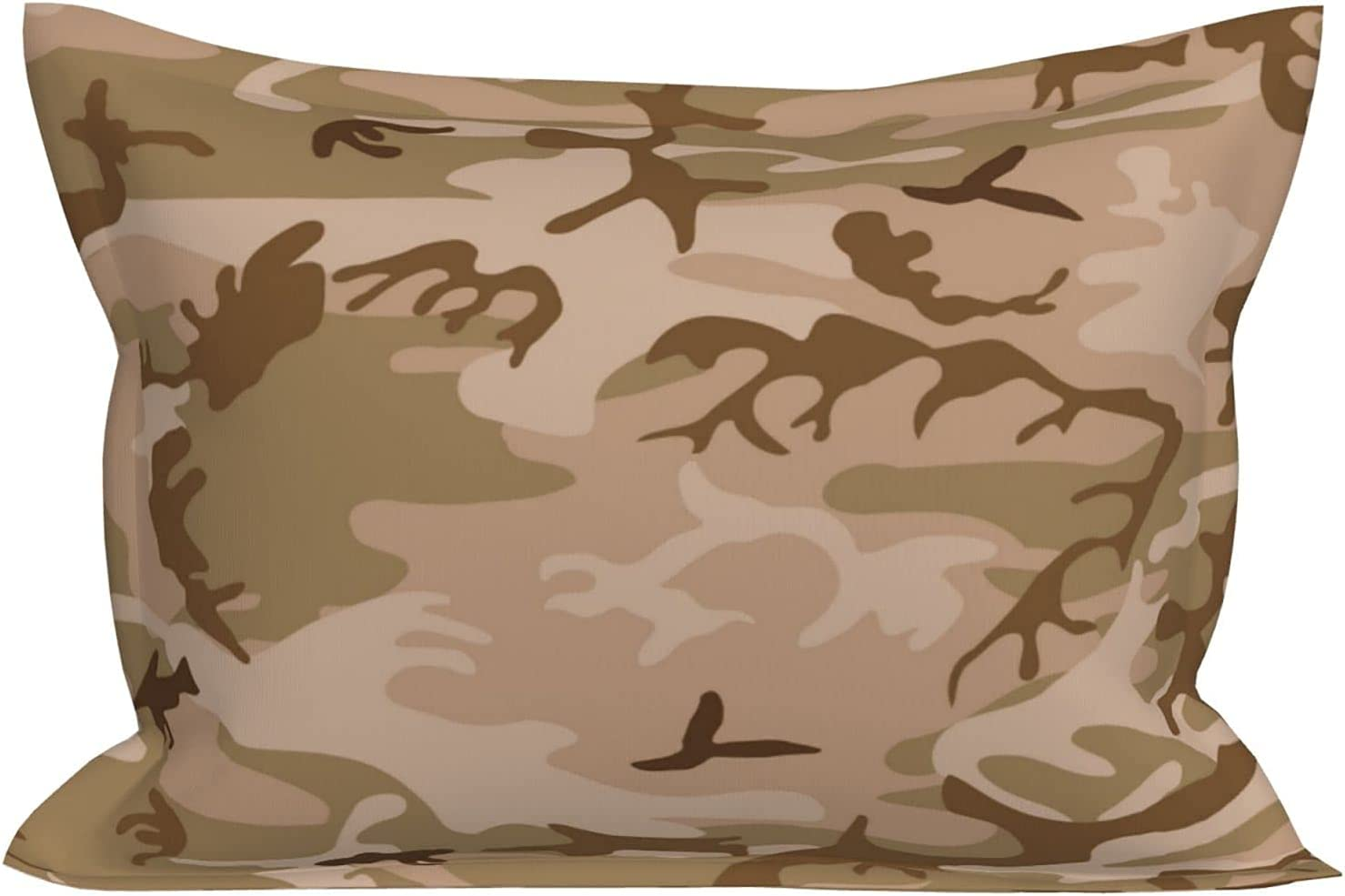 huaxian Department store Desert Limited Special Price Camo Pillowcase - Pillow Cover Microfiber Brushed