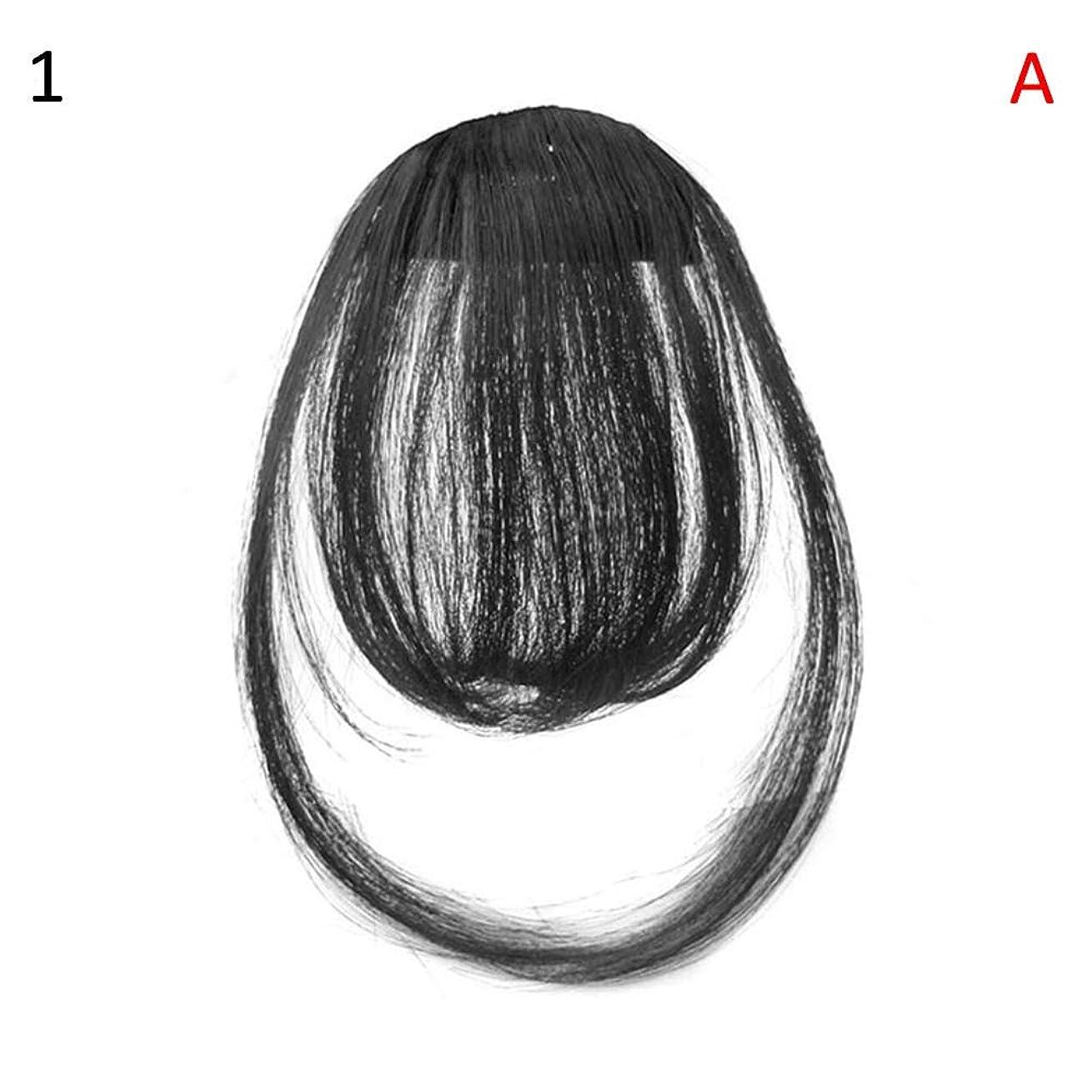 熟考するガスジェームズダイソンslQinjiansav女性ウィッグ修理ツールファッションレディース薄いクリップオンエアバンフロントフリンジウィッグヘアエクステンションヘアピース