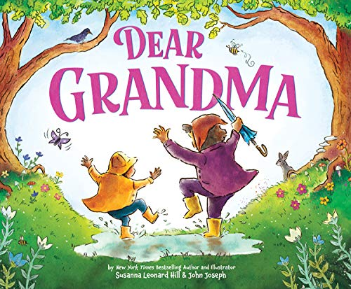 Dear Grandma : Celebrate the Special Bond Between Grandkids and Grandma (Mother's Day Gift for Grandma)