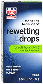 Rite Aid Rewetting Drops 0.5 oz (15 ml)