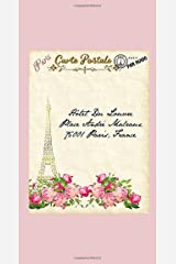 """Postcards From Paris Traveler's Notebook 2021 Planner Book or Refill Fits Leather Binders 8.5""""x 4.5"""" (21cm X 11cm): Vintage Parisian Themed Full Dated ... Notebook or Refill 2021 Dated Planner) Paperback"""