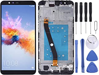 LCD Display Replacement Parts LCD Screen and Digitizer Full Assembly with Frame for Huawei Honor 7X Mobile Phone Repair Parts