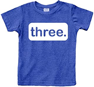 3rd Birthday Shirt boy Third Outfit 3 Year Old Toddler Gift Baby Tshirt Party Shirts