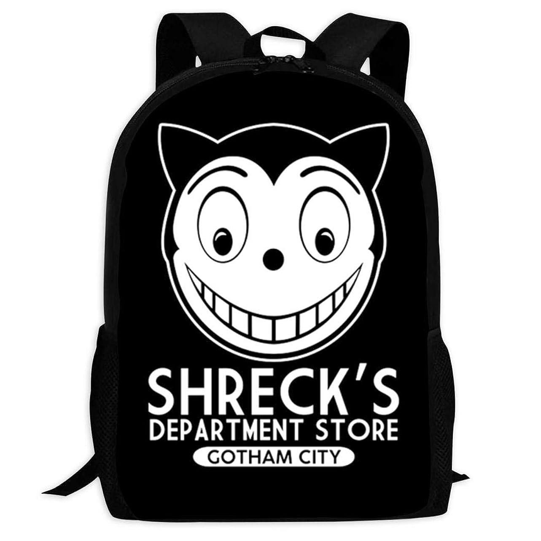 セクション二年生青Department Store Logo キッズバックパックラップトップバッグ学生軽量スクールバッグトラベルバッグブックバッグ男の子女の子のためのショルダーバッグ