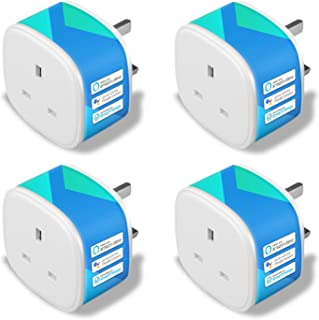 Meross Smart Plug Compatible with Alexa (Echo and Echo Dot), Google Home and Samsung SmartThings Wi-Fi Plugs Remote Contro...
