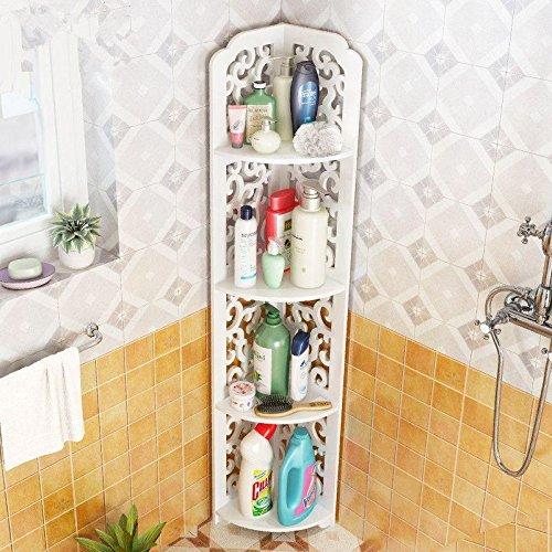 Handtuchhalter,Handtuchring,Handtuchhaken,Geschirrtuchhalter,Wandmontage,Für Bad Toilette Handtuchständer Retro-Falthandtuchständer Bad-Eckzarge Multifunktions-Handtuchhalter,4-Lagen-Ecke (Zw0024N)