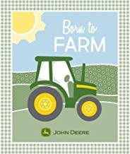 John Deere Panel Born to Farm in Green/Yellow/Blue Fabric by The Panel