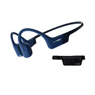 AfterShokz Aeropex Sport Running Headphones, Wireless Bone Conduction Bluetooth Earphones with Mic, IP67 Waterproof for Cy...
