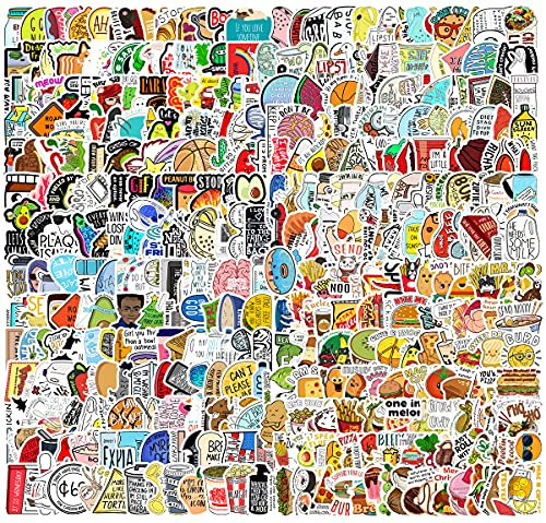 400 Pcs Fresh Vine Stickers for Water Bottle,Funny Meme Stickers Pack for Laptop Skateboard,Extra Durable and Reusable