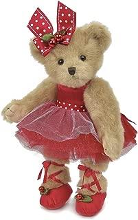 Bearington Clara Ballerina Christmas Plush Stuffed Animal Teddy Bear, 14